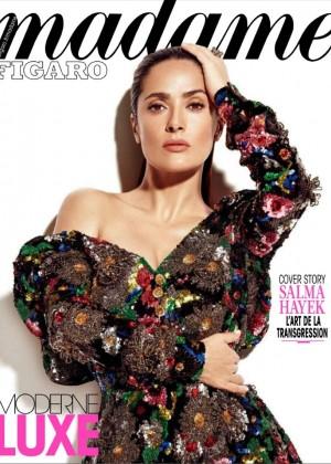 Salma Hayek: Madame Figaro Magazine 2015 -06