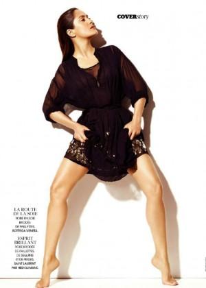 Salma Hayek: Madame Figaro Magazine 2015 -07
