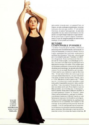 Salma Hayek: Madame Figaro Magazine 2015 -08