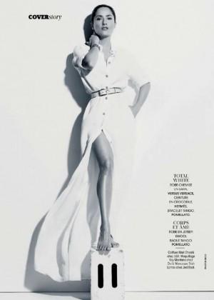 Salma Hayek: Madame Figaro Magazine 2015 -09