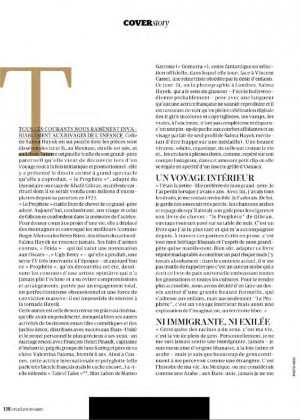 Salma Hayek: Madame Figaro Magazine 2015 -10