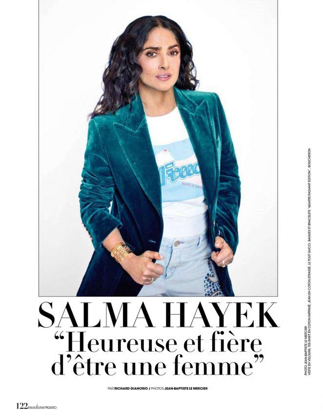 Salma Hayek - Madame Figaro Magazine (May 2018)