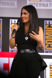 Salma Hayek - Marvel Panel at Comic Con San Diego 2019