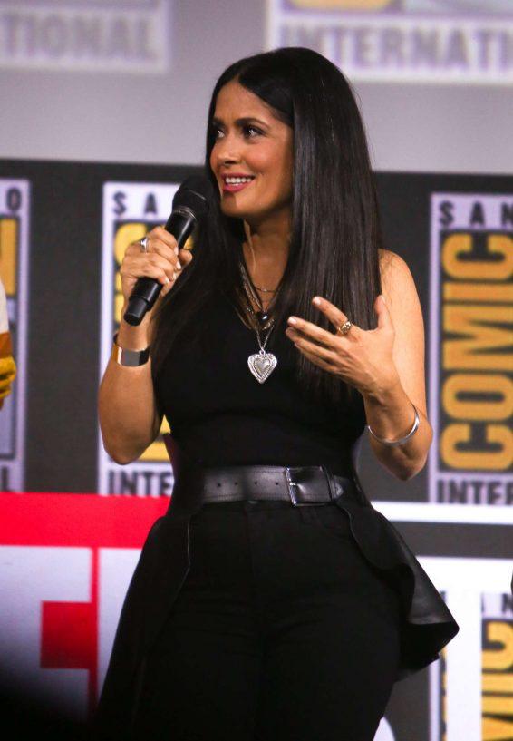 Salma Hayek - Marvel Panel at Comic Con San Diego 2019