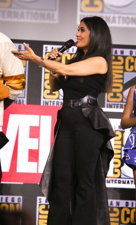 Salma Hayek 2019 : Salma Hayek – Marvel Panel at Comic Con San Diego 2019-08