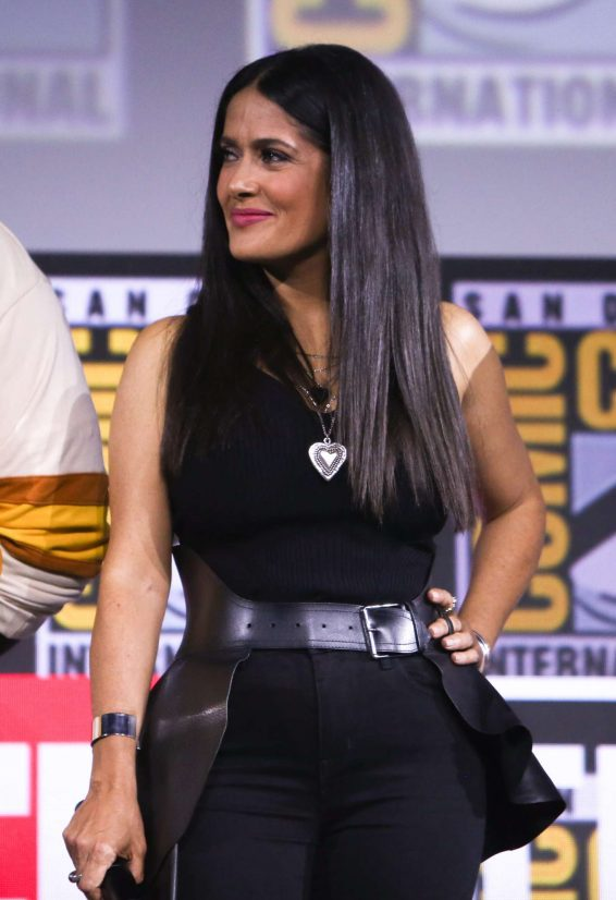 Salma Hayek 2019 : Salma Hayek – Marvel Panel at Comic Con San Diego 2019-09
