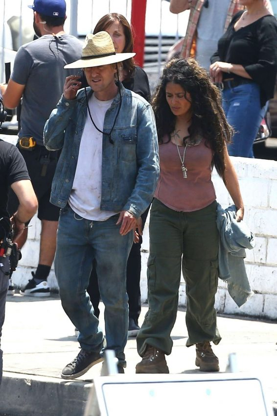 Salma Hayek – On the set of Bliss in Los Angeles-05