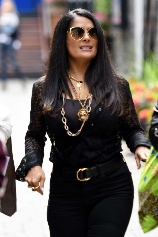 Salma Hayek - Out in Toronto