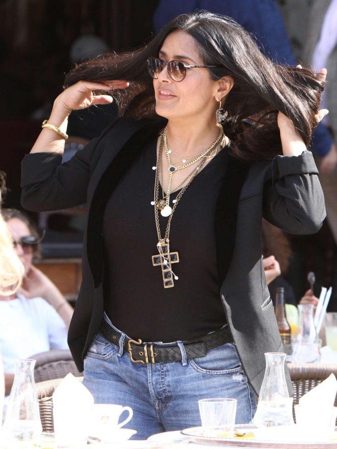 Salma Hayek - Out in Venice