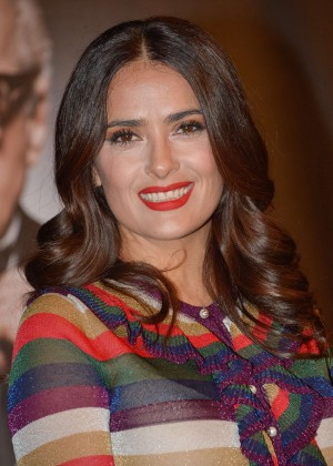 Salma Hayek - Prix Lumiere Ceremony during 7th Festival Lumiere in Lyon