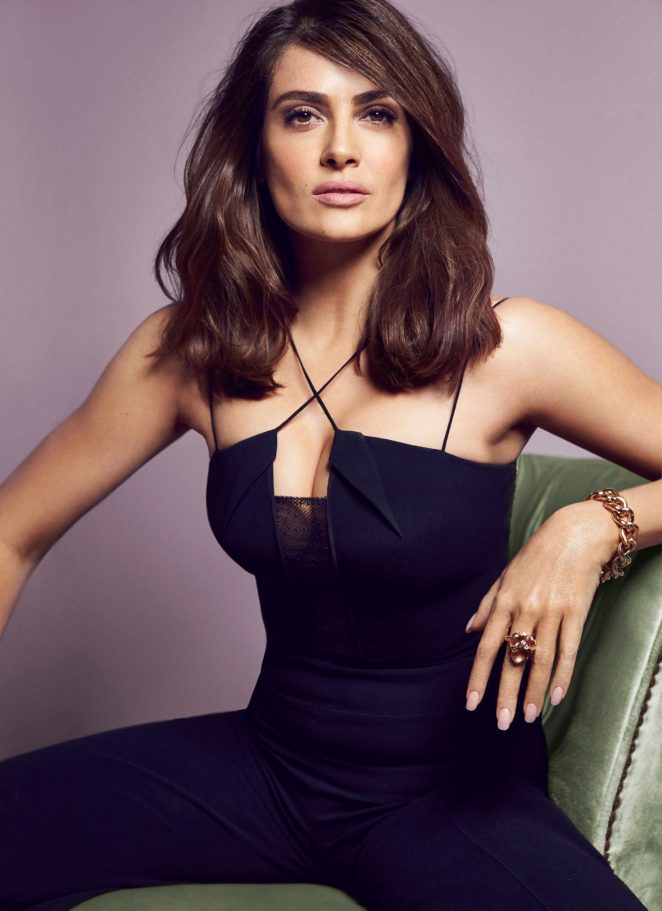 Salma Hayek – RED Magazine 2016