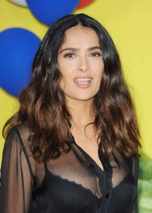 Salma Hayek – 'Sausage Party' Premiere in Westwood  Salma Hayek
