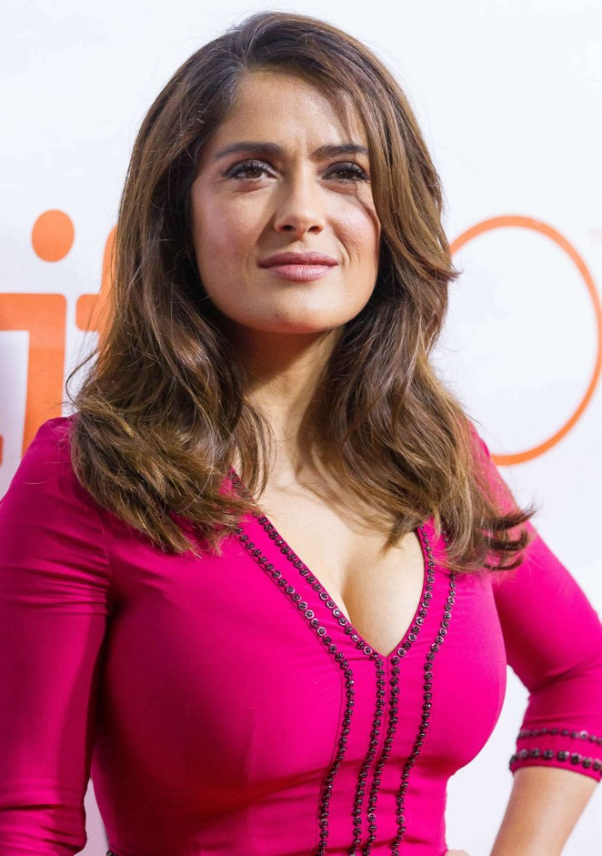 Salma Hayek - 'Septembers of Shiraz' Premiere at 2015 TIFF in Toronto