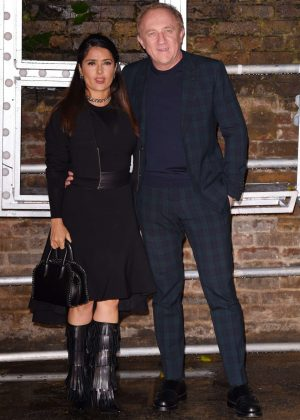 Salma Hayek - Stella McCartney Collections Launch in London