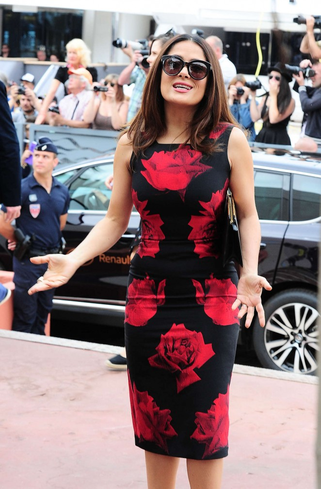 Salma Hayek: Tale Of Tales Photocall at 2015 Cannes Film Festival -05