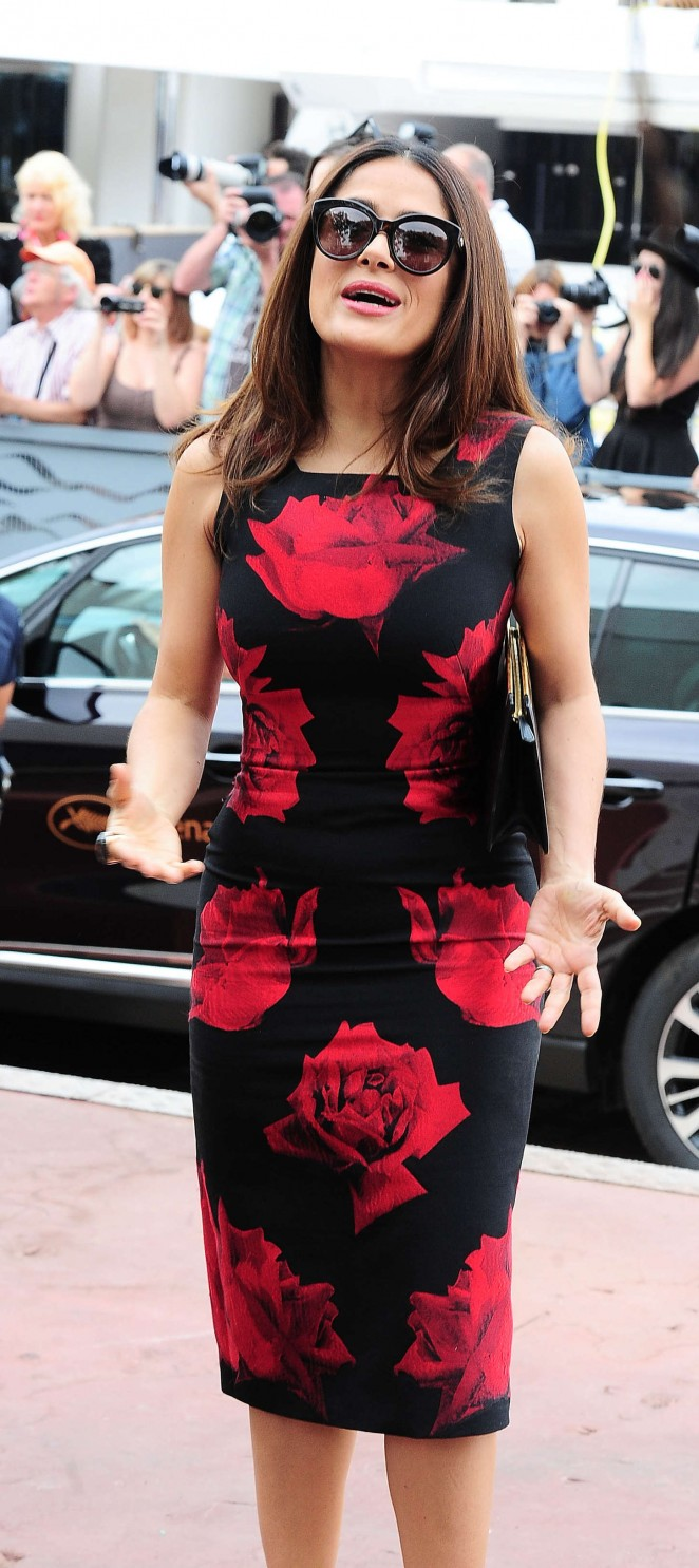 Salma Hayek: Tale Of Tales Photocall at 2015 Cannes Film Festival -06