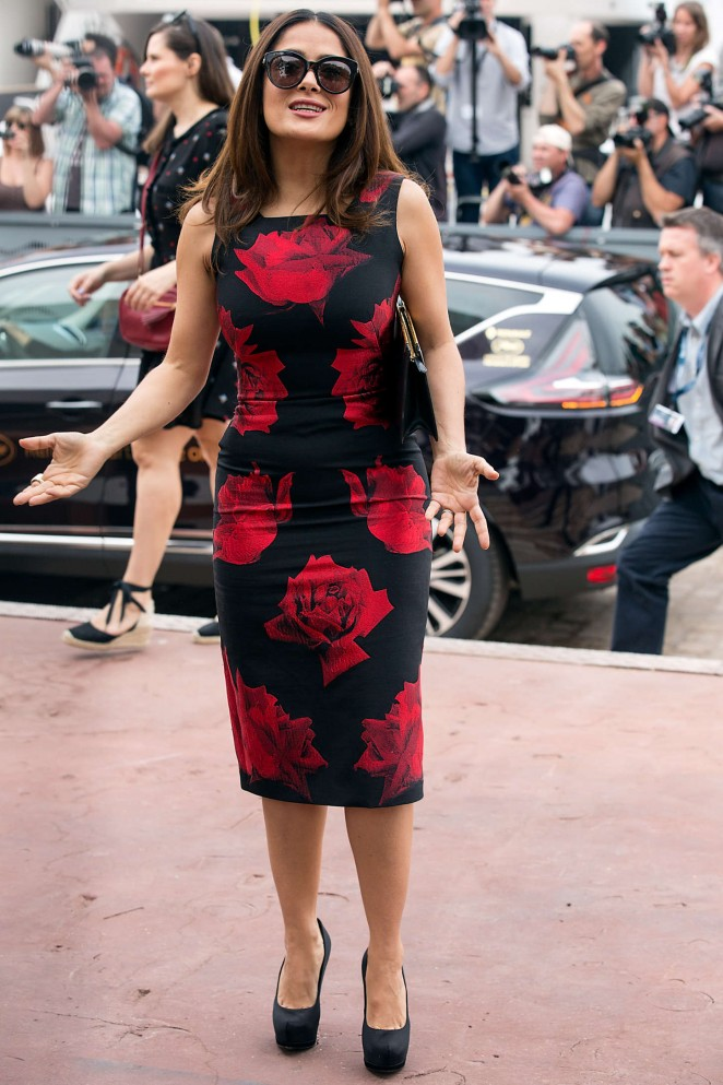 Salma Hayek: Tale Of Tales Photocall at 2015 Cannes Film Festival -07