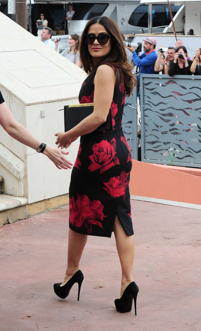 Salma Hayek: Tale Of Tales Photocall at 2015 Cannes Film Festival -10