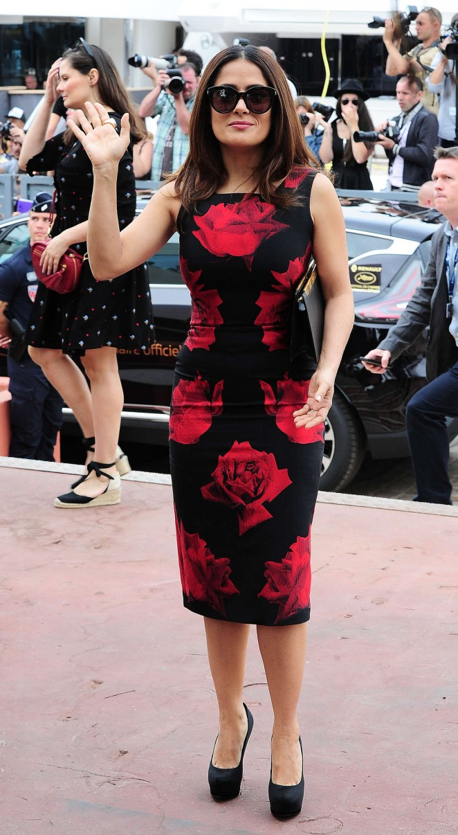 Salma Hayek: Tale Of Tales Photocall at 2015 Cannes Film Festival -14