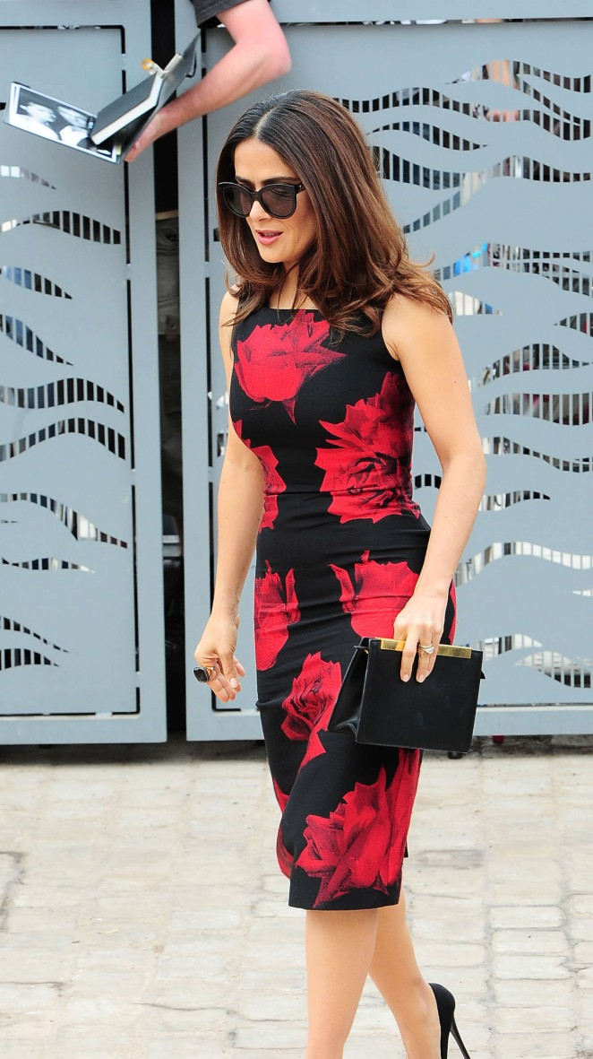 Salma Hayek: Tale Of Tales Photocall at 2015 Cannes Film Festival -16