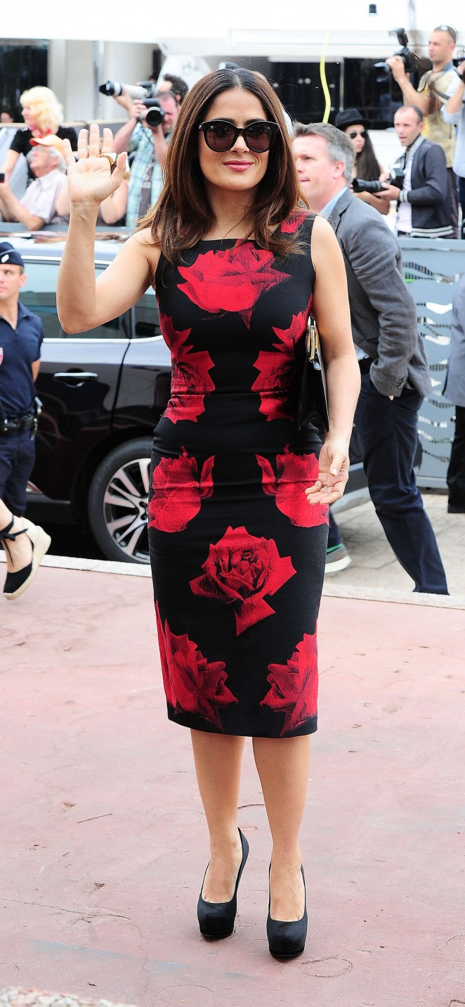 Salma Hayek: Tale Of Tales Photocall at 2015 Cannes Film Festival -19