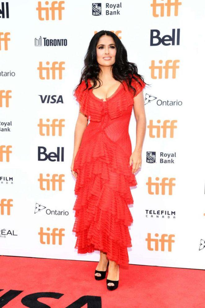 Salma Hayek - 'The Hummingbird Project' Premiere - 2018 Toronto International Film Festival