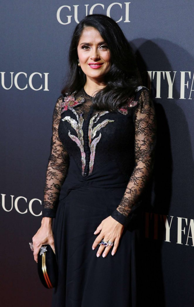 Salma Hayek - Vanity Fair Personality of the Year Awards 2018 in Madrid