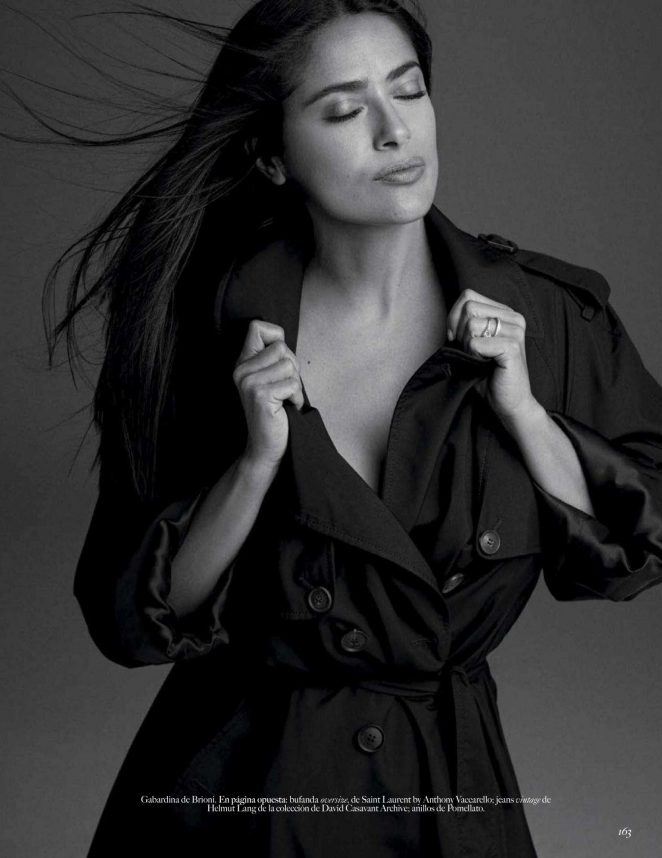 Salma Hayek - Vogue Mexico Magazine (November 2018)