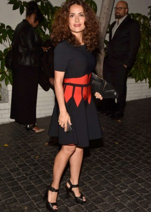 Salma Hayek - W Magazine Celebrates Golden Globes Week 2015 in LA
