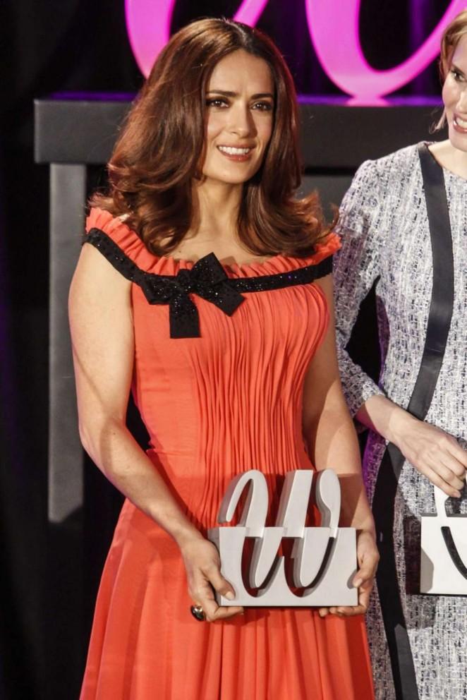 Salma Hayek - Woman Awards 2015 in Madrid
