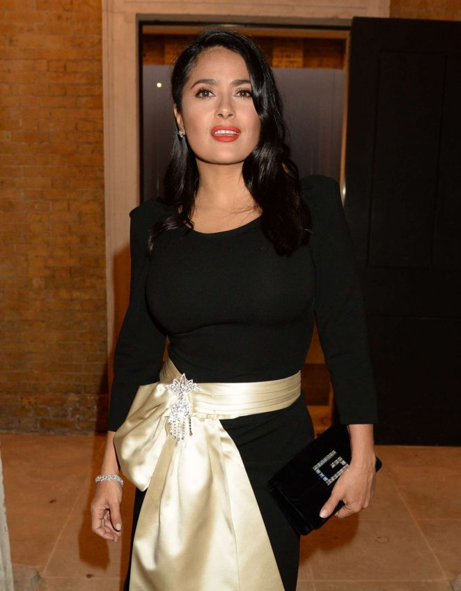 Salma Hayek - 'Yugen' by Martha Fiennes exhibition VIP preview in London