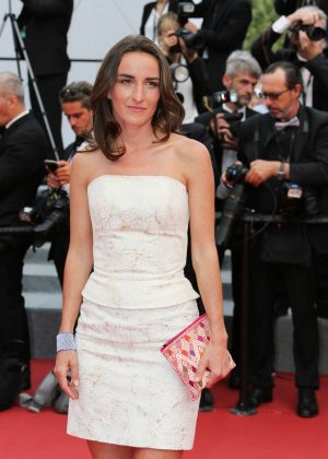 Salome Stevenin - 'The Double Lover' Premiere at 70th Cannes Film Festival