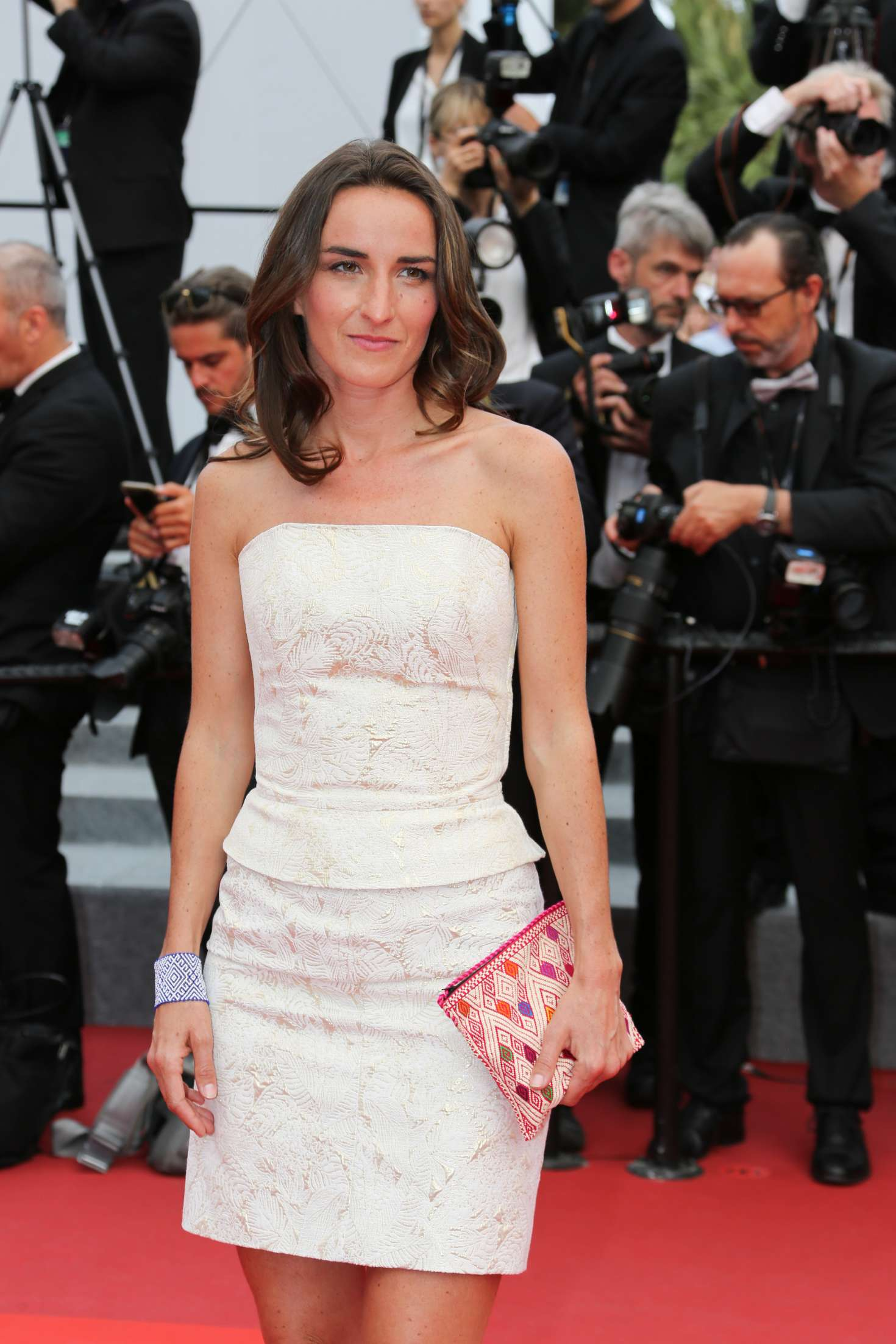 Salome Stevenin - 'The Double Lover' Premiere at 70th Cannes Film Festival