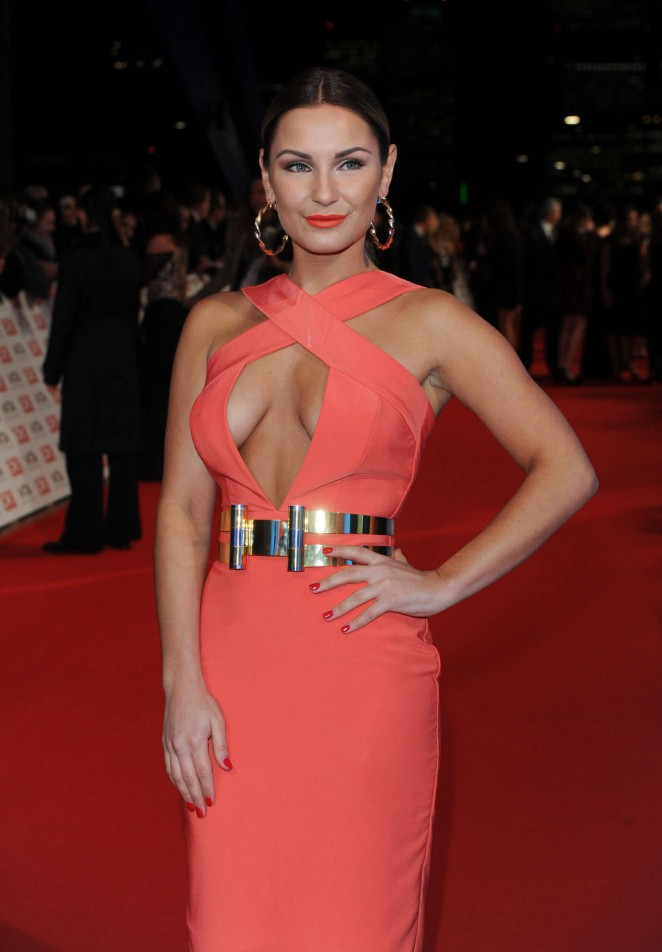 Sam Faiers - 2015 National Television Awards in London