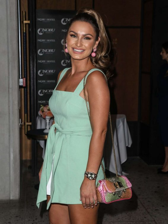 Sam Faiers - Arrives at ITV Summer Party 2019 in London
