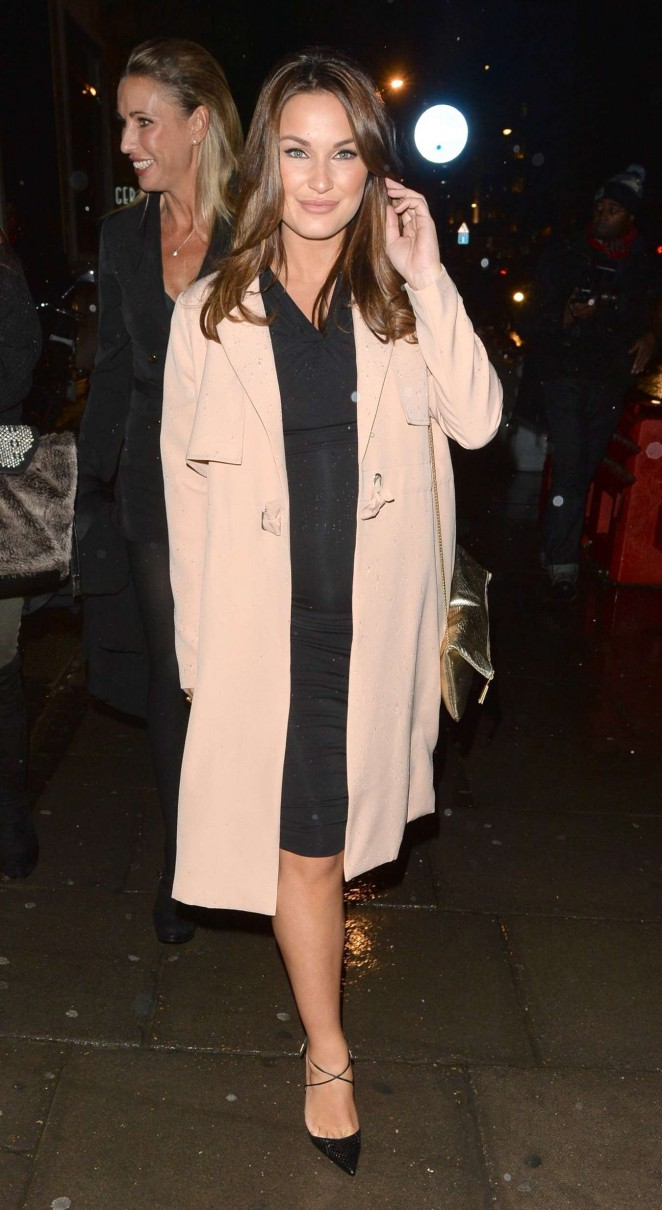 Sam Faiers at Billie Faiers' in The Style Launch Party in London