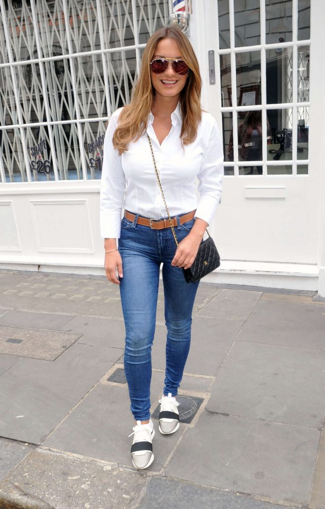 Sam Faiers at Sky Kids TV Event in London