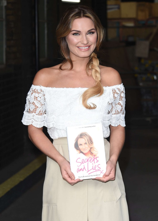 Sam Faiers at The London Studios