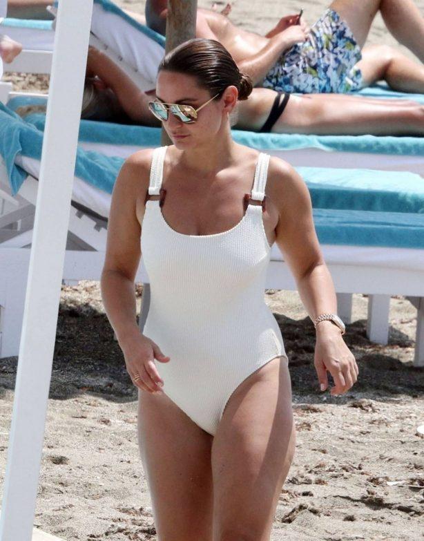 Sam Faiers - Bikini candids in Spain