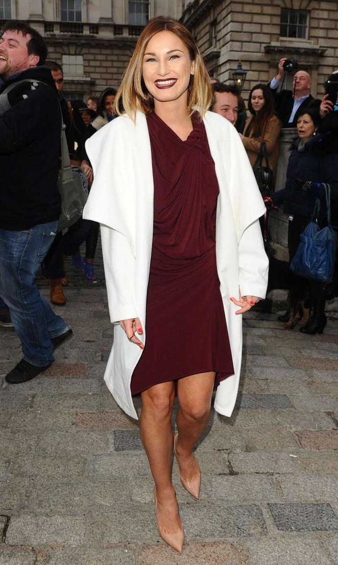 Sam Faiers - Jean-Pierre Braganza Fashion Show 2015 in London