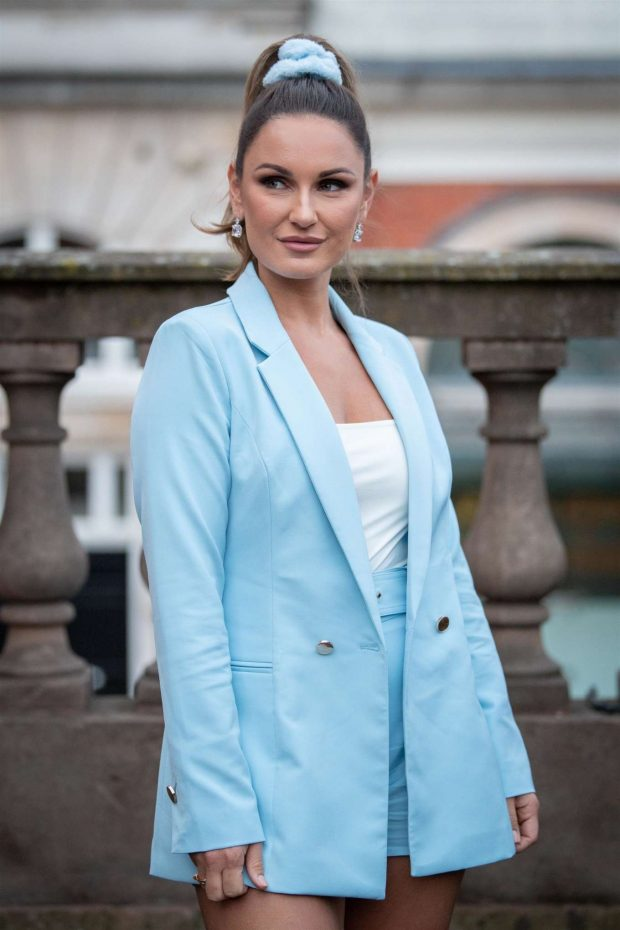 Sam Faiers - Launch of her clothing collection with Quiz Clothing in London