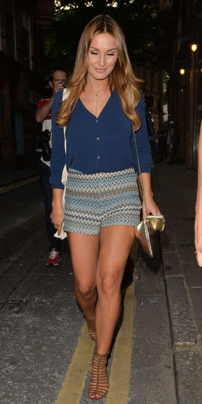 Sam Faiers - LOVO Coconut Water Launch Party in London