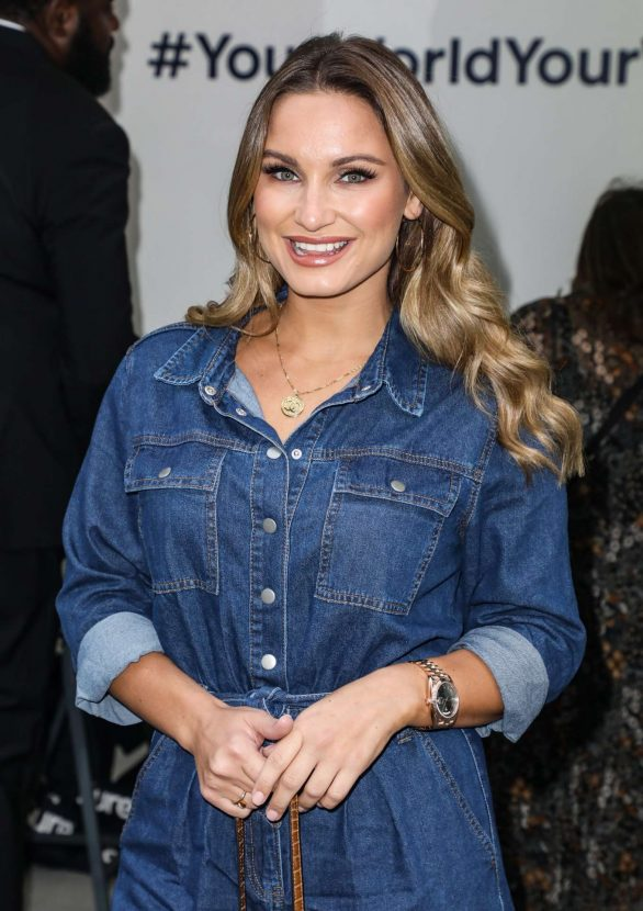 Sam Faiers - Sure's Everyday Gym Your World Your Workout Exclusive Event in London