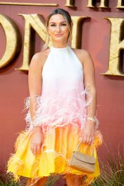 Sam Faiers - 'The Lion King' Premiere in London