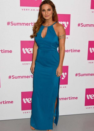 Sam Faiers - Very.co.uk Summertime Party in London