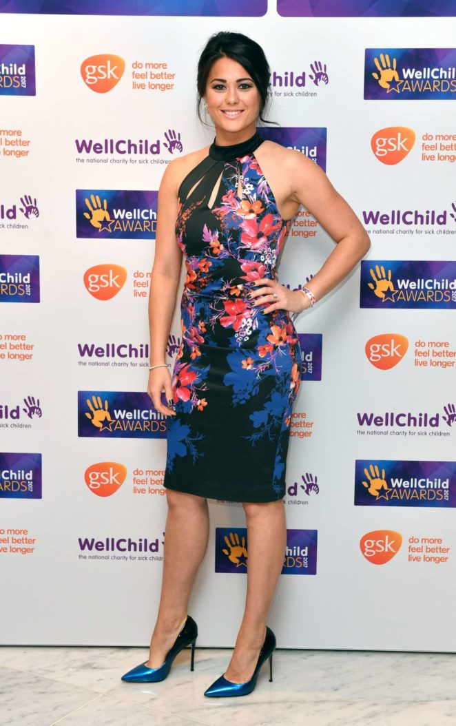 Sam Quek - WellChild Awards 2017 in London