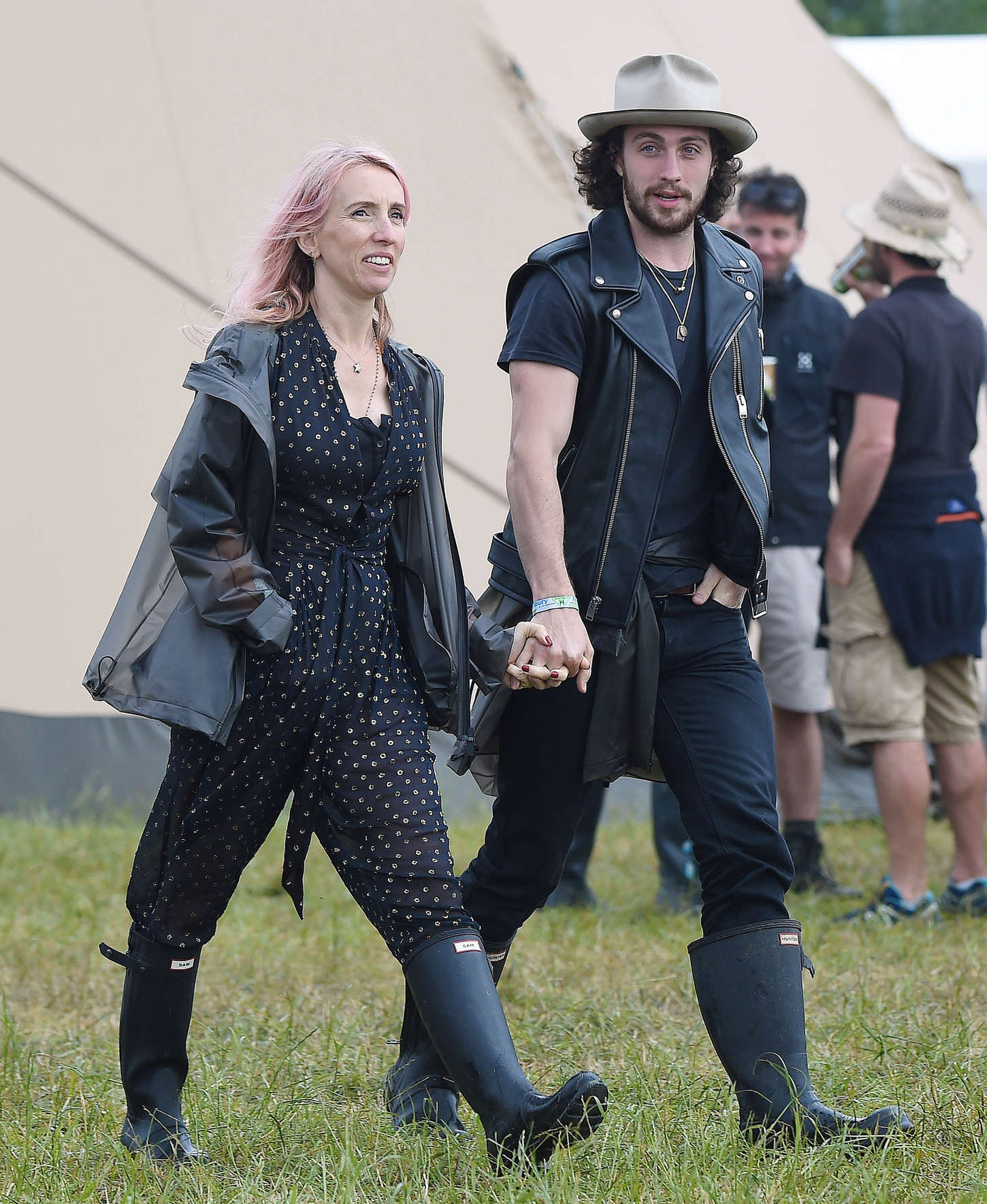 Sam Taylor-Johnson - Day 1 of the Glastonbury Festival in Glastonbury