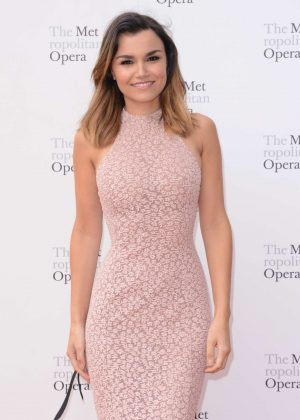 Samantha Barks - Metropolitan Opera Opening Night Gala in New York