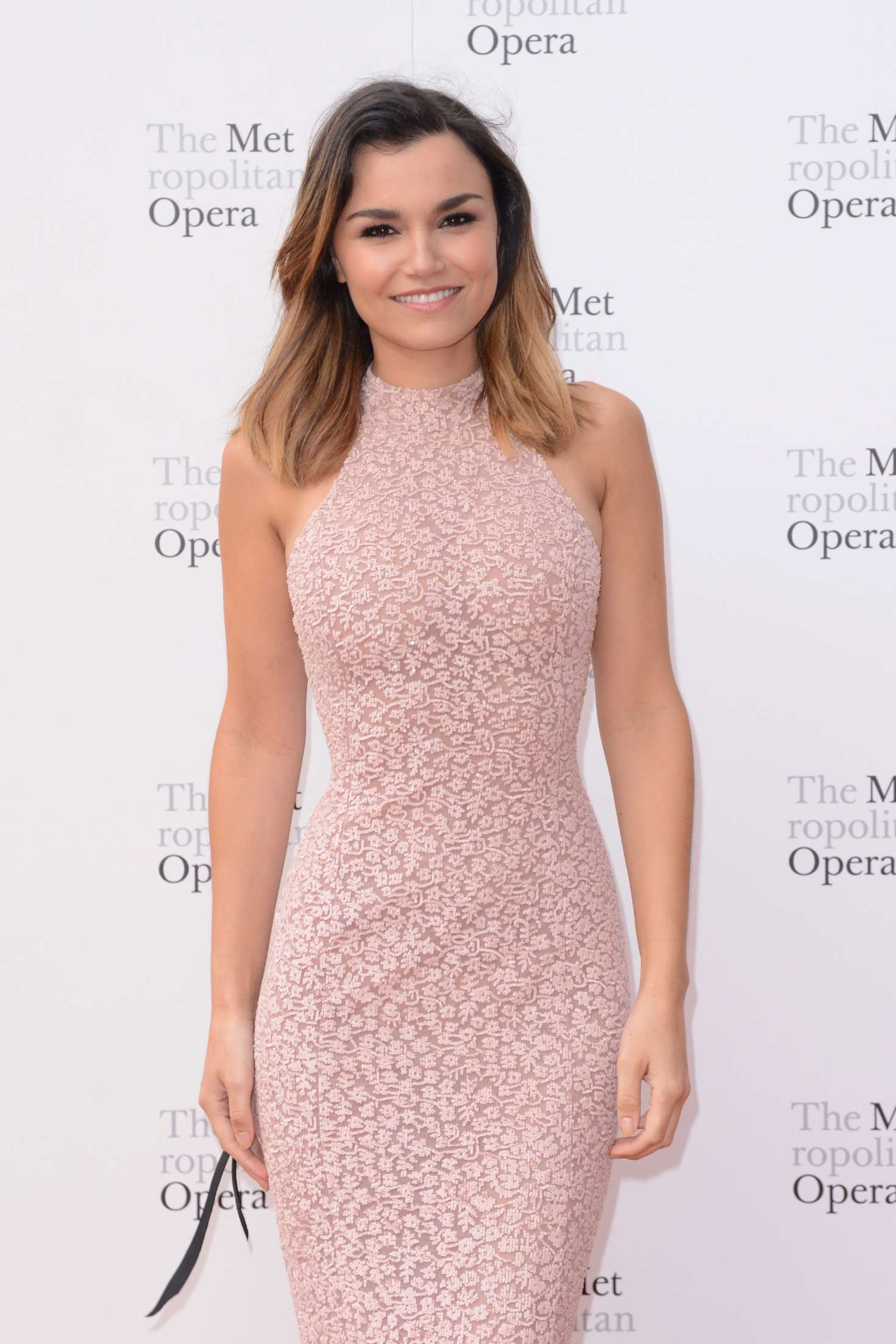 Samantha Barks – Metropolitan Opera Opening Night Gala in New York