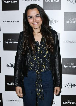 Samantha Barks - Nespresso Launch Party in London